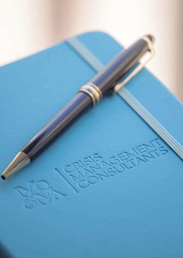 Libreta de MO&MA Consultoría de gestión de crisis