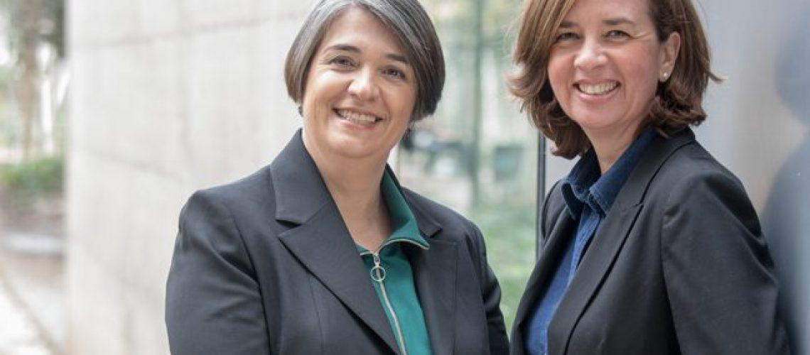 María José Adamuz y Miriam Omedes